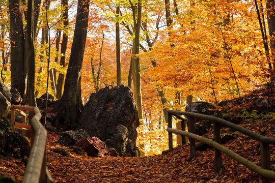 Hemer Felsenmeer im Herbst