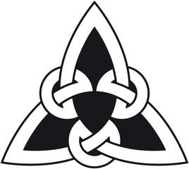 celtic triangle knot 3 (keltischer Dreiecksknoten)