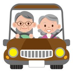 シニア夫婦 ドライブ