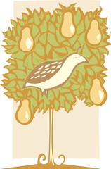 Partridge and Pear Tree