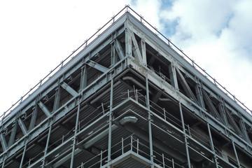 angle vif d'une construction en acier