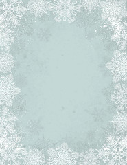 grey christmas background, vector