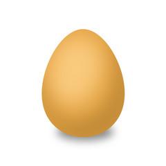 Brown egg for Graphics.