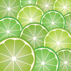 Pattern limes slices