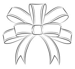 Ribbon drawing