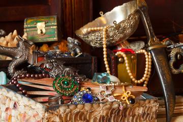 vintage treasure trunks