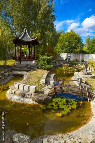 France Yvelines Vallee De Chevreuse Jardin Chinois Yili Pago