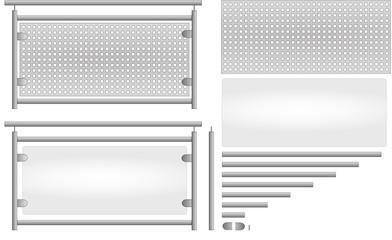 bilder und videos suchen lochblech. Black Bedroom Furniture Sets. Home Design Ideas