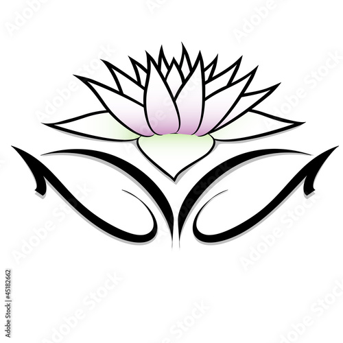 Fiore Di Loto Tattoo Stock Image And Royalty Free Vector Files On