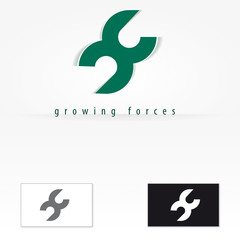 Growing forces