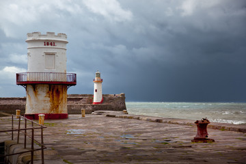 Old Lighthouse and Docks from Industrial Revolution Period