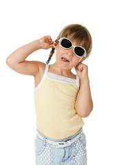 girl in glasses