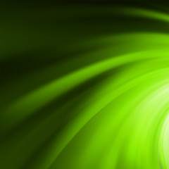 Abstract green swirl. EPS 8