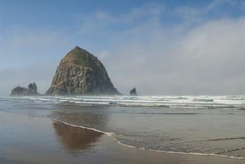 Haystack at Cannon Beach Oregon