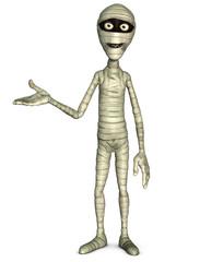 Spoed Fotobehang Sweet Monsters Halloween mummy