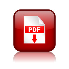 Pdf download vector button