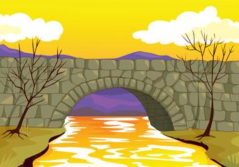 bridge made up of stone
