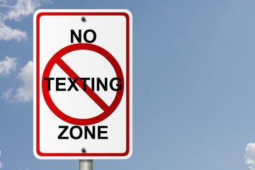 No Texting Zone