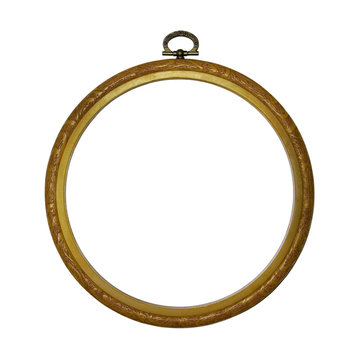 Round Picture Frame
