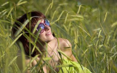 Sky in sunglasses