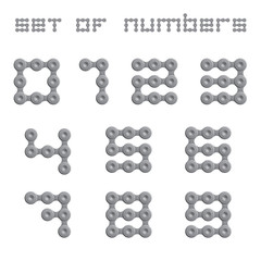 Abstract Numbers - Chain Sign Set Two