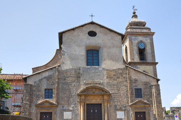 Church of SS. Faustino and Giovita. Viterbo. Lazio. Italy.
