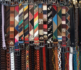 colorful belts