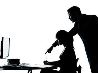 man father teacher student girl teenager homework