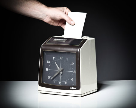 check clock