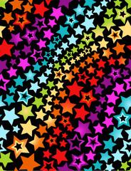 Star seamless background