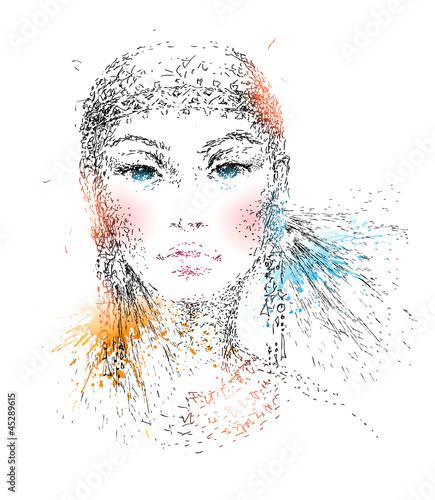 Как сделать двухцветное изображение