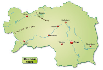 Steiermark Karte Flüsse.Fotos Lizenzfreie Bilder Grafiken Vektoren Und Videos Von