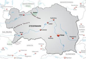 Steiermark Karte Flüsse.Bilder Und Videos Suchen Steiermarkkarte