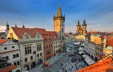 Türaufkleber Prag prague