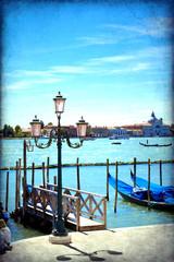 Venice, View of San Giorgio maggiore from San Marco