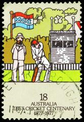 AUSTRALIA - CIRCA 1977 Batsman