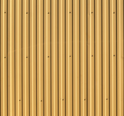Corrugated steel background or texture