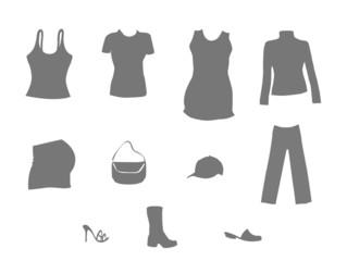 Womens clothing.