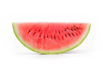 watermelon slices isolated on white background