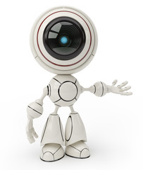 Photo sur Aluminium Robots cute robot