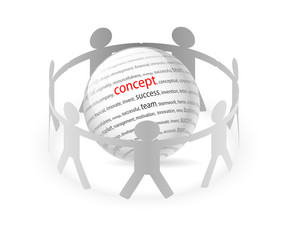 concept and people