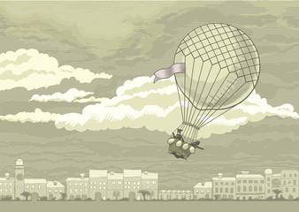 Flying aerostat