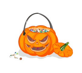 Сrop on a Halloween