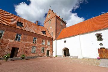 Backaskog castle in southern Sweden