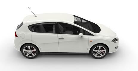 White Family Car 2