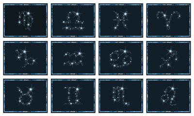Sky zodiac set