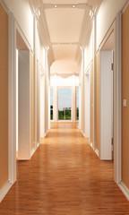 empty luxury apartment