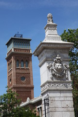 two towers in Madrid