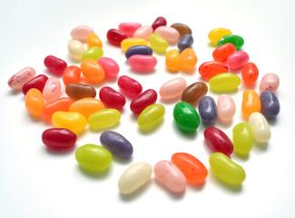Fototapete - Jelly Beans auf dem Tisch