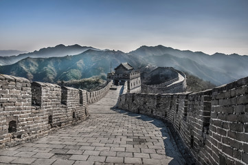 Photo sur Aluminium Muraille de Chine Great Wall at Mutianyu